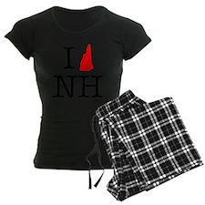 I Love NH New Hampshire Pajamas