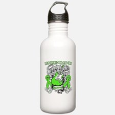 Remission Rocks Lymphoma Water Bottle