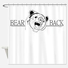 Bear Back Shower Curtain