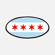 Chicago Flag Patches