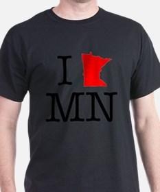 I Love MN Minnesota T-Shirt