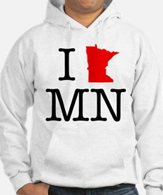I Love MN Minnesota Jumper Hoody