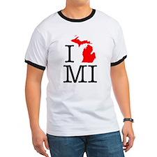 I Love MI Michigan T