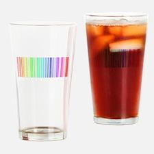 Bar Code Drinking Glass