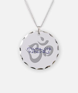 Cute Om yoga Necklace
