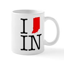 I Love IN Indiana Mug