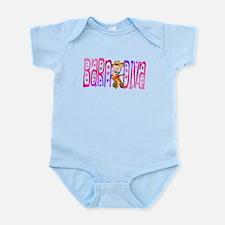 Funny Barnyard Diva Infant Bodysuit