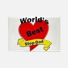 Cute Stepdad birthday Rectangle Magnet