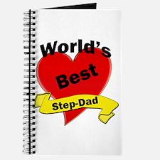 Cute Stepdad birthday Journal