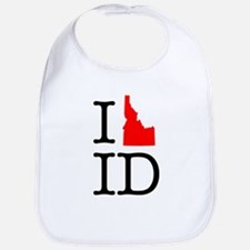 I Love ID Idaho Bib