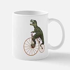 Tyrannosaurus Rex Penny Farthing Mug