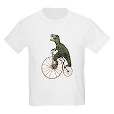 Tyrannosaurus Rex Penny Farthing T-Shirt
