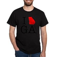 I Love GA Georgia T-Shirt