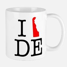 I Love DE Delaware Mug