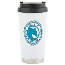Circle F Horse Rescue Society Travel Mug
