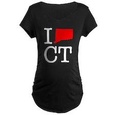I Love CT Connecticut T-Shirt