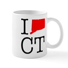 I Love CT Connecticut Mug