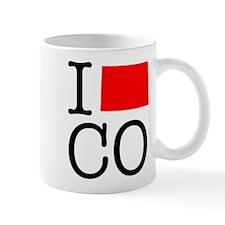 I Love CO Colorado Mug