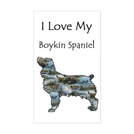 I <3 My Boykin Spaniel Sticker (Rectangle)