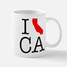 I Love CA California Mug