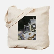 Table of New Orleans Beignets Tote Bag