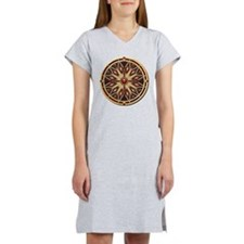 Native American Rosette 02 Women's Nightshirt