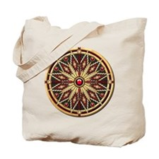 Native American Rosette 02 Tote Bag