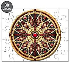 Native American Rosette 02 Puzzle