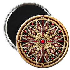 Native American Rosette 02 Magnet