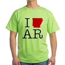 I Love AR Arkansas T-Shirt