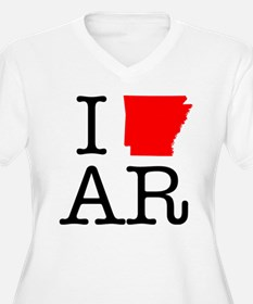 I Love AR Arkansas T-Shirt