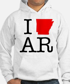 I Love AR Arkansas Jumper Hoody