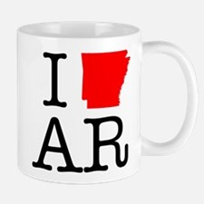 I Love AR Arkansas Mug
