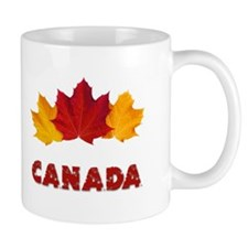 Maple Leaf Celebration Mug