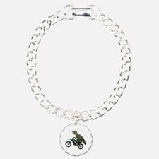 Dirt Bike Wheelie T Rex Bracelet