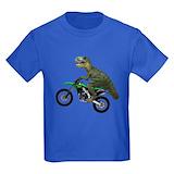 T rex Kids T-shirts (Dark)