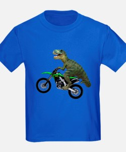 Dirt Bike Wheelie T Rex T