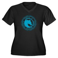 Circle F Horse Rescue Society Women's Plus Size V-