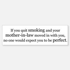 Smoking With Your Mother-In-Law