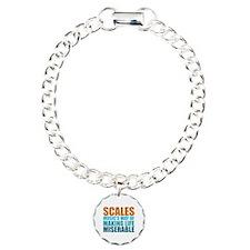 Scales Charm Bracelet, One Charm