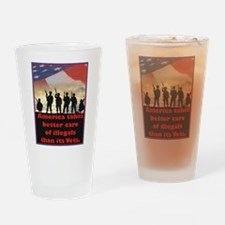 America takes better care Drinking Glass