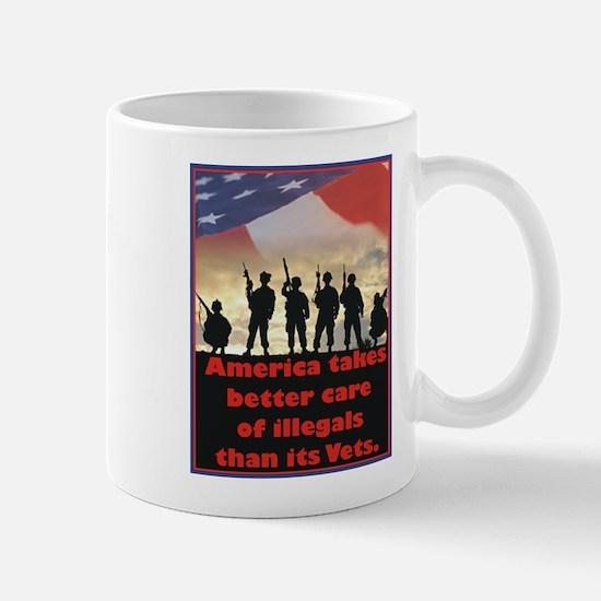 America takes better care Mug