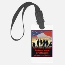 America takes better care Luggage Tag