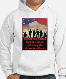 America takes better care Hoodie