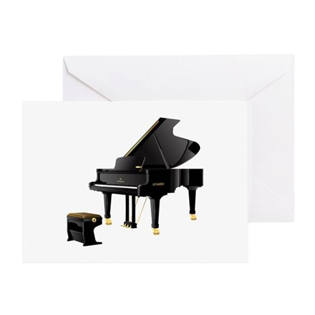 Grand Piano Greeting Card