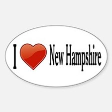 I Love New Hampshire Decal