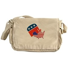 Screwing America Messenger Bag