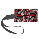 Deco Tech Large Luggage Tag