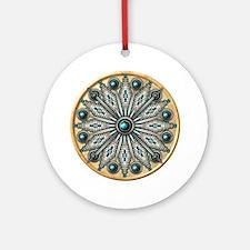 Native American Rosette 03 Ornament (Round)
