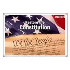 Restore the Constitution Banner